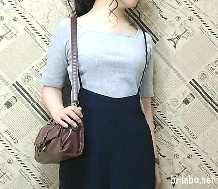 低身長女子向けGUコーデ818ー2